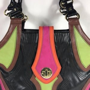 Multi Colored Handbag with Great Styling